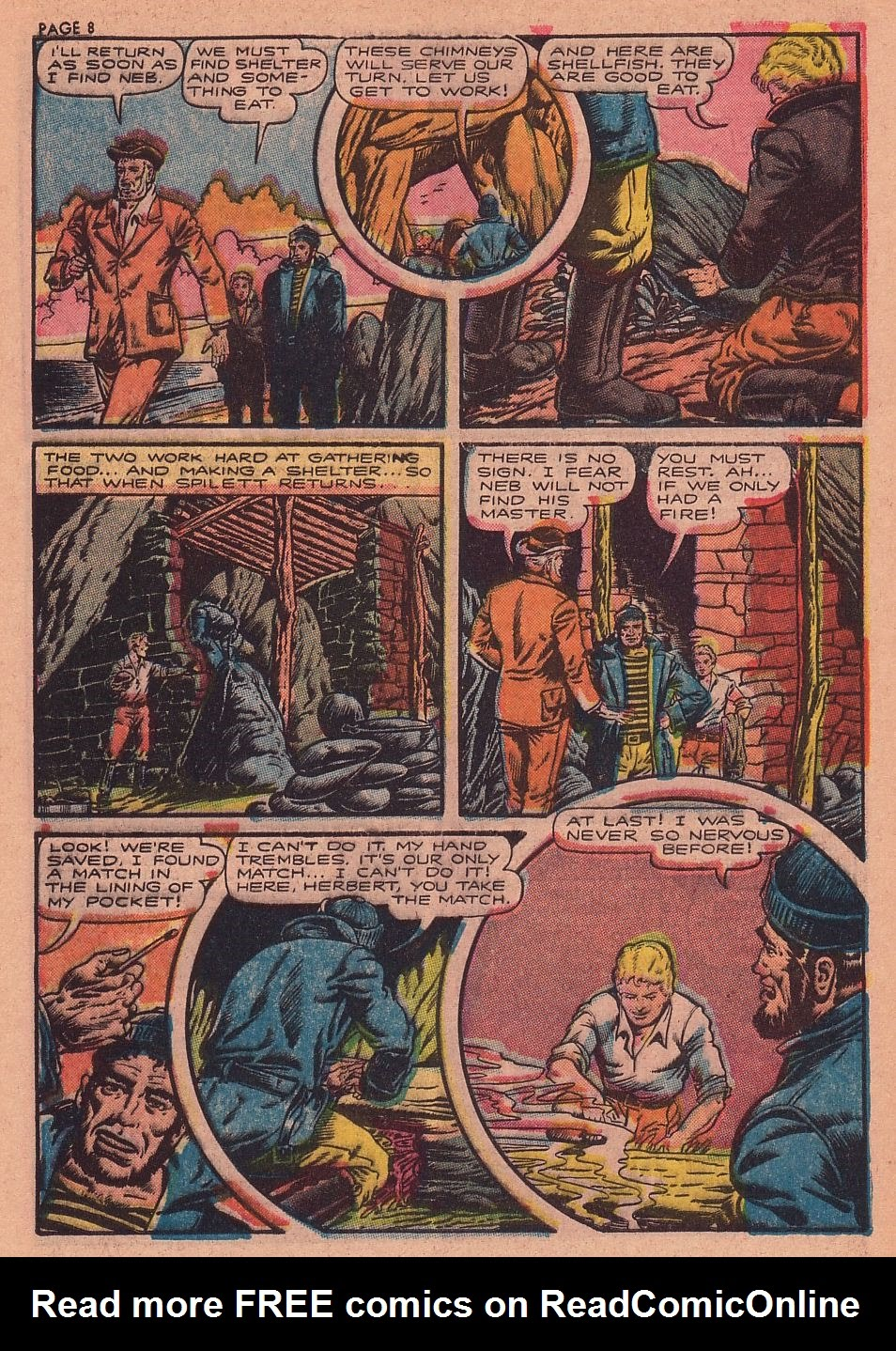 Classics Illustrated issue 34 - Page 9