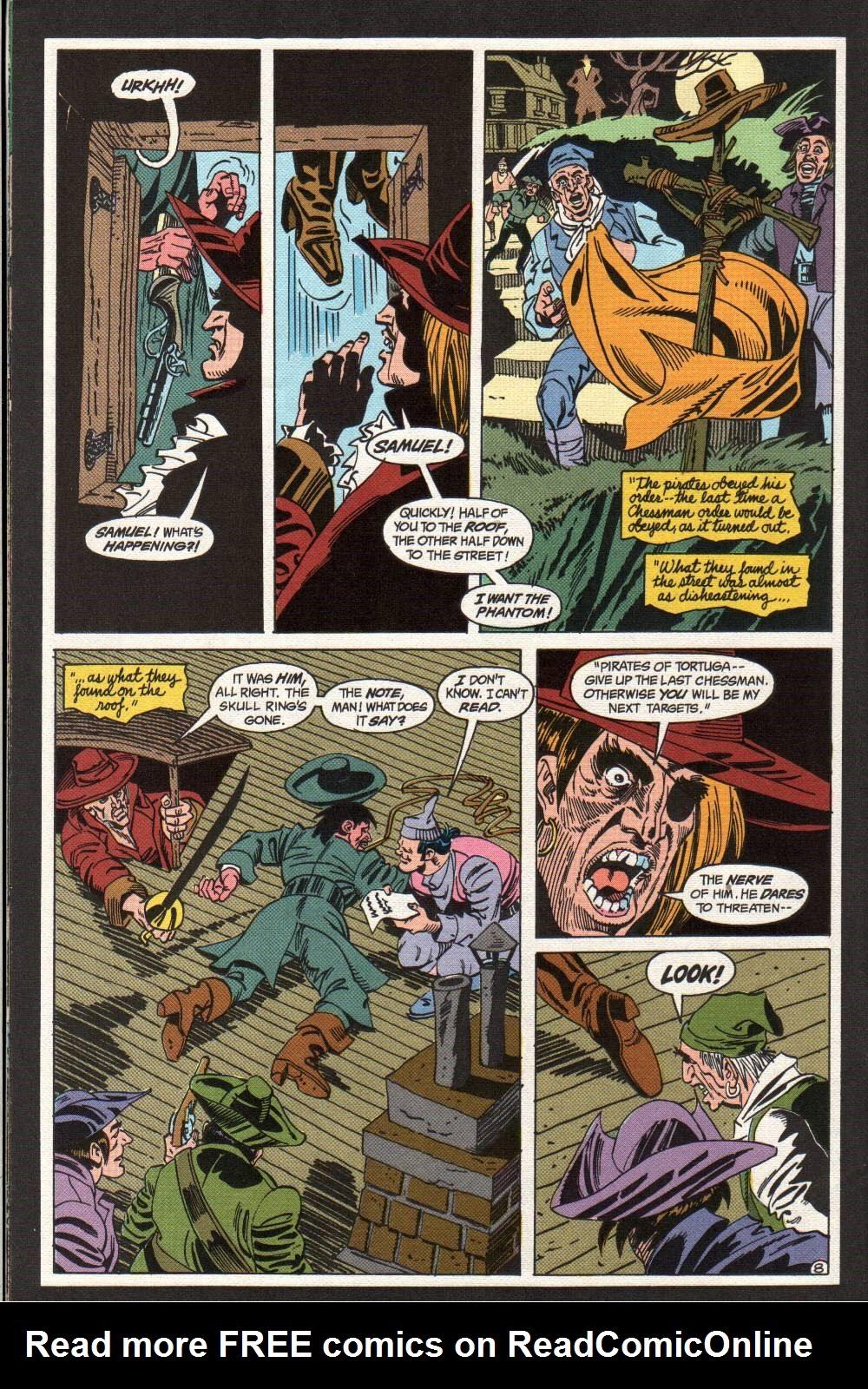 Read online The Phantom (1988) comic -  Issue #4 - 9