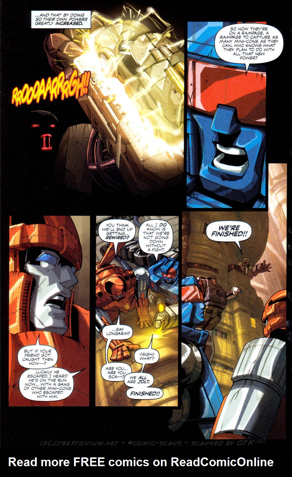 Read online Transformers Armada comic -  Issue #1 - 17