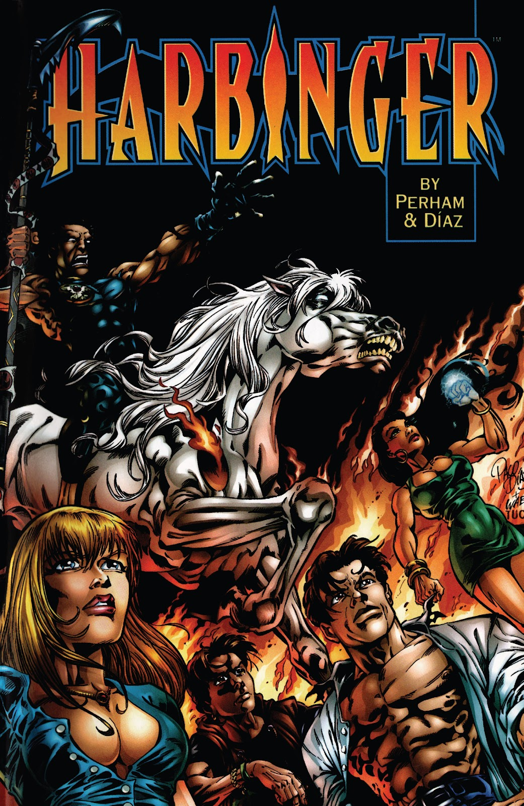 Harbinger: Acts of God issue Full - Page 1