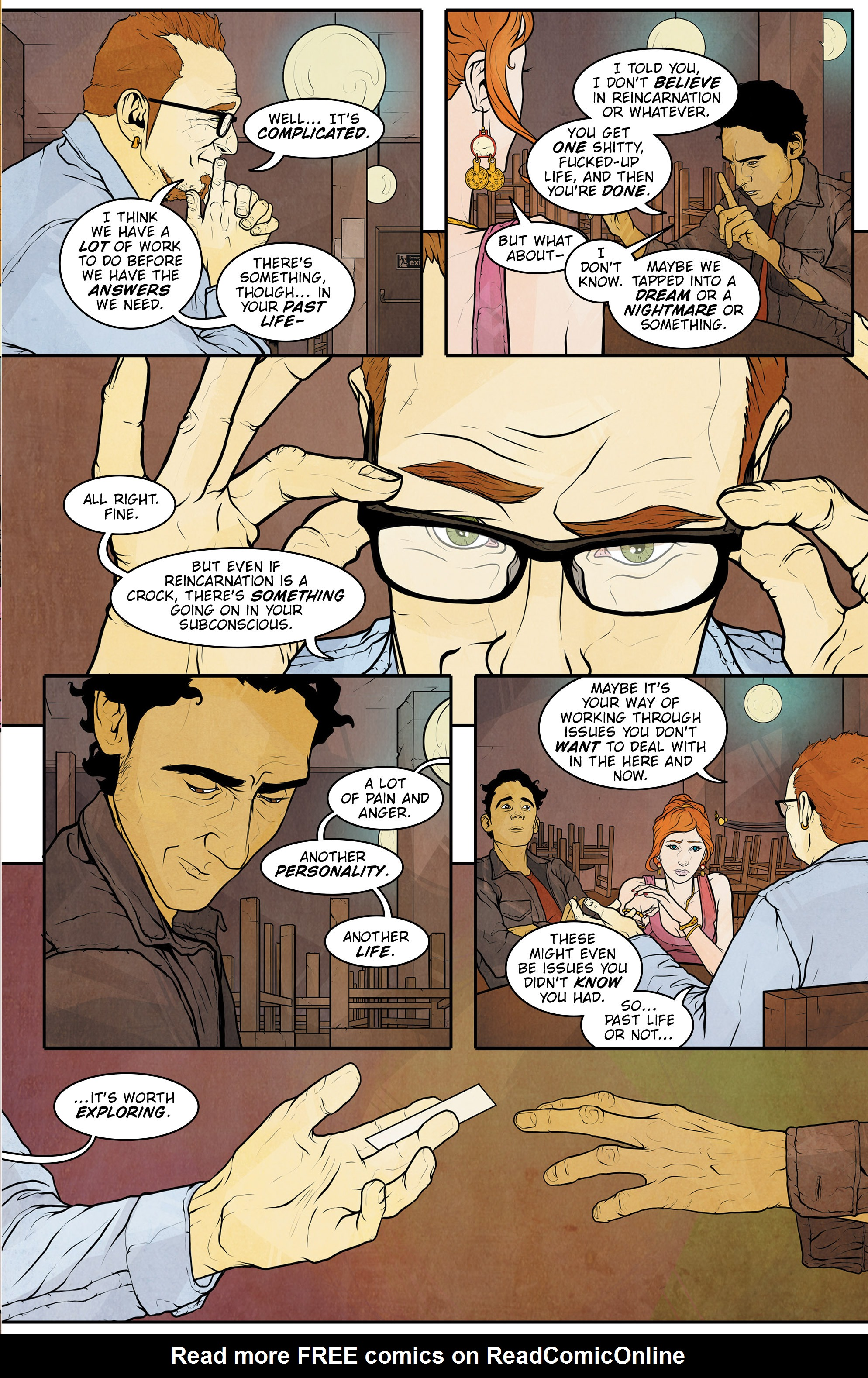Read online Regression comic -  Issue #1 - 18