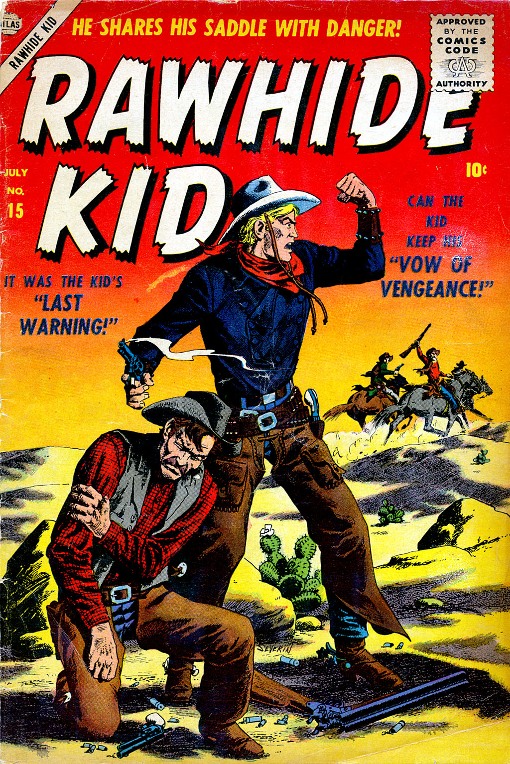 The Rawhide Kid (1955) issue 15 - Page 1