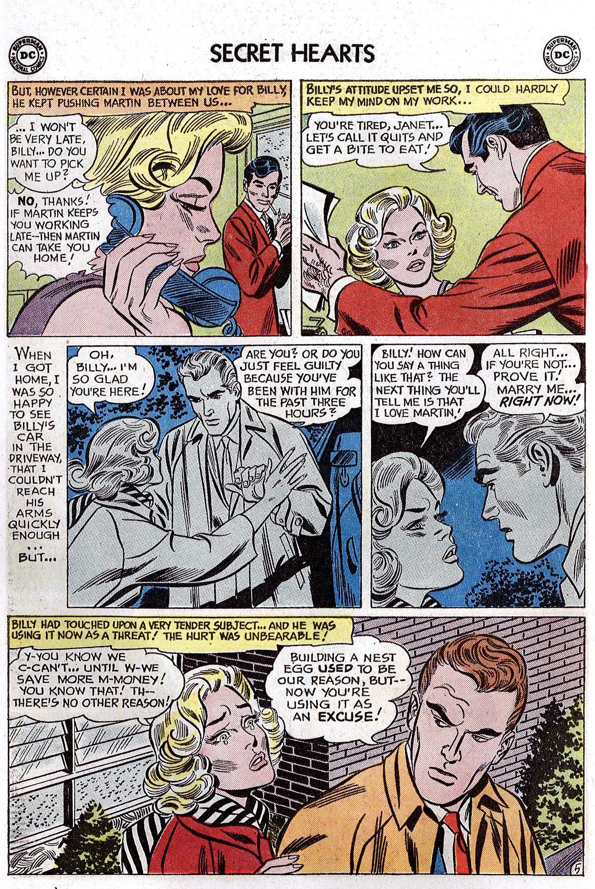 Read online Secret Hearts comic -  Issue #82 - 14