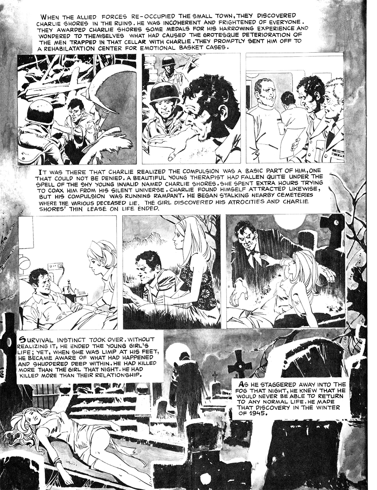 Read online Eerie Archives comic -  Issue # TPB 8 - 33