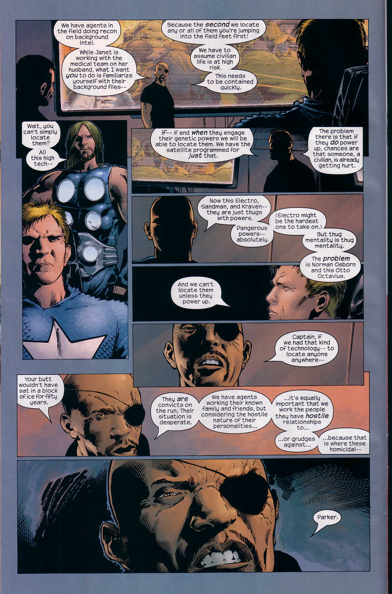 Read online Ultimate Six comic -  Issue #3 - 13