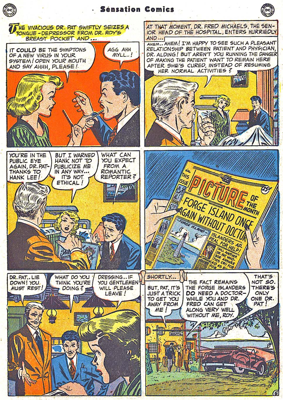 Read online Sensation (Mystery) Comics comic -  Issue #96 - 21