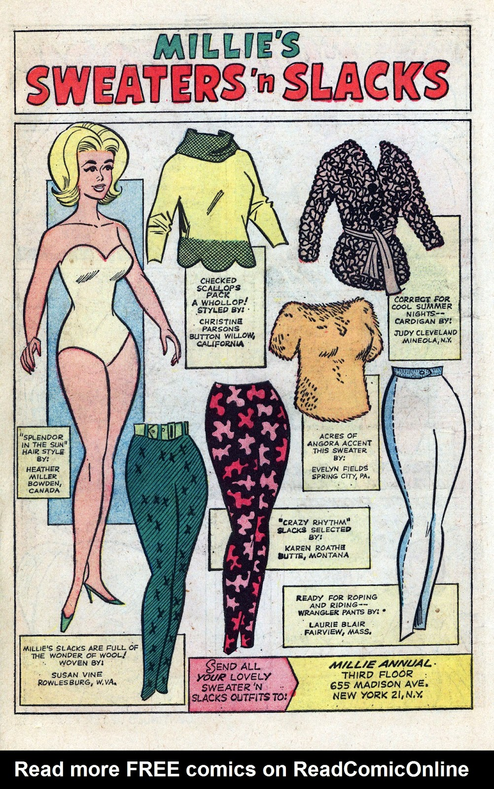 Read online Millie the Model comic -  Issue # Annual 3 - 14