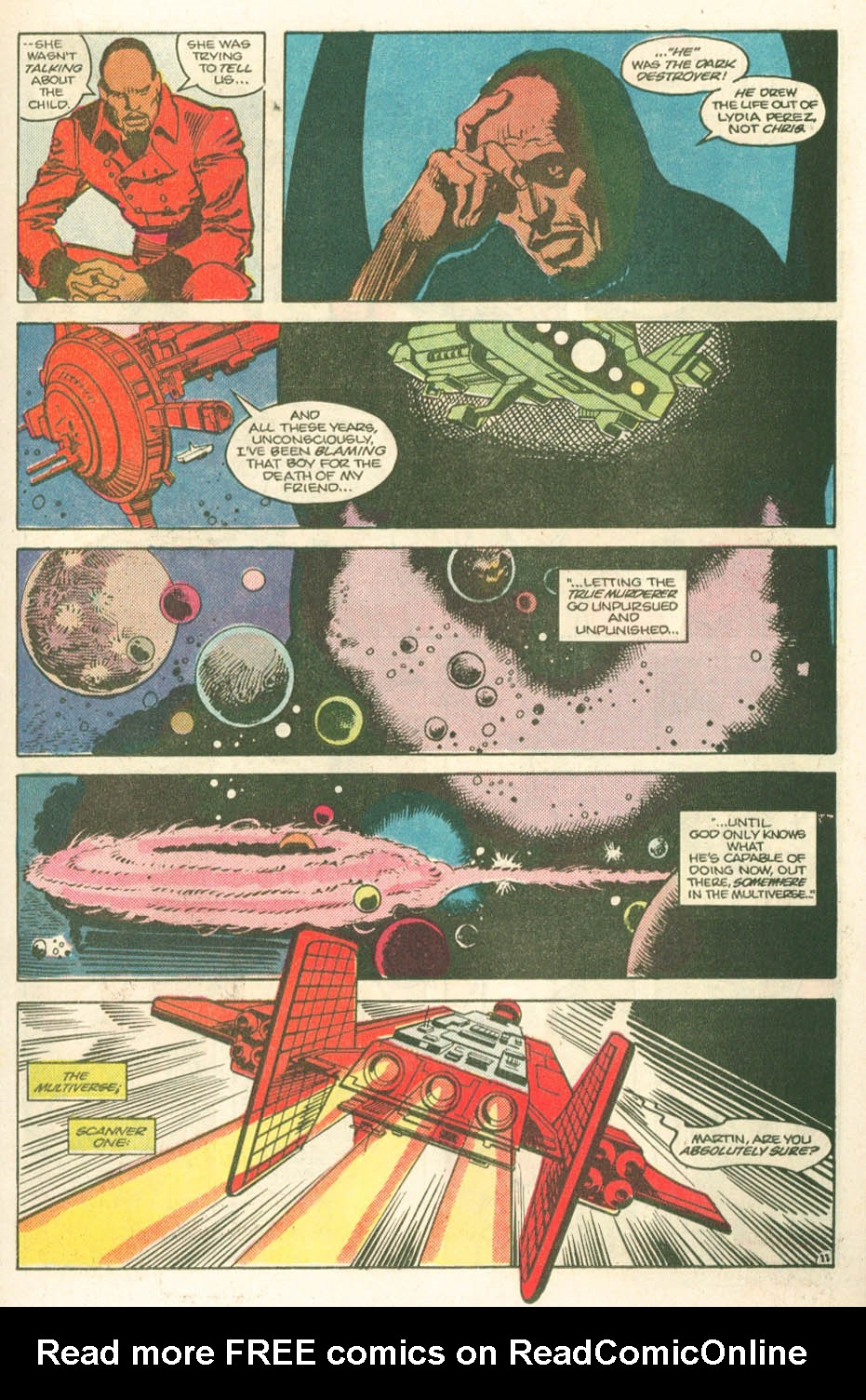 Read online Atari Force (1984) comic -  Issue #11 - 13