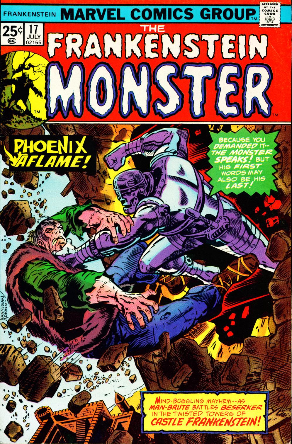 Frankenstein (1973) 17 Page 1