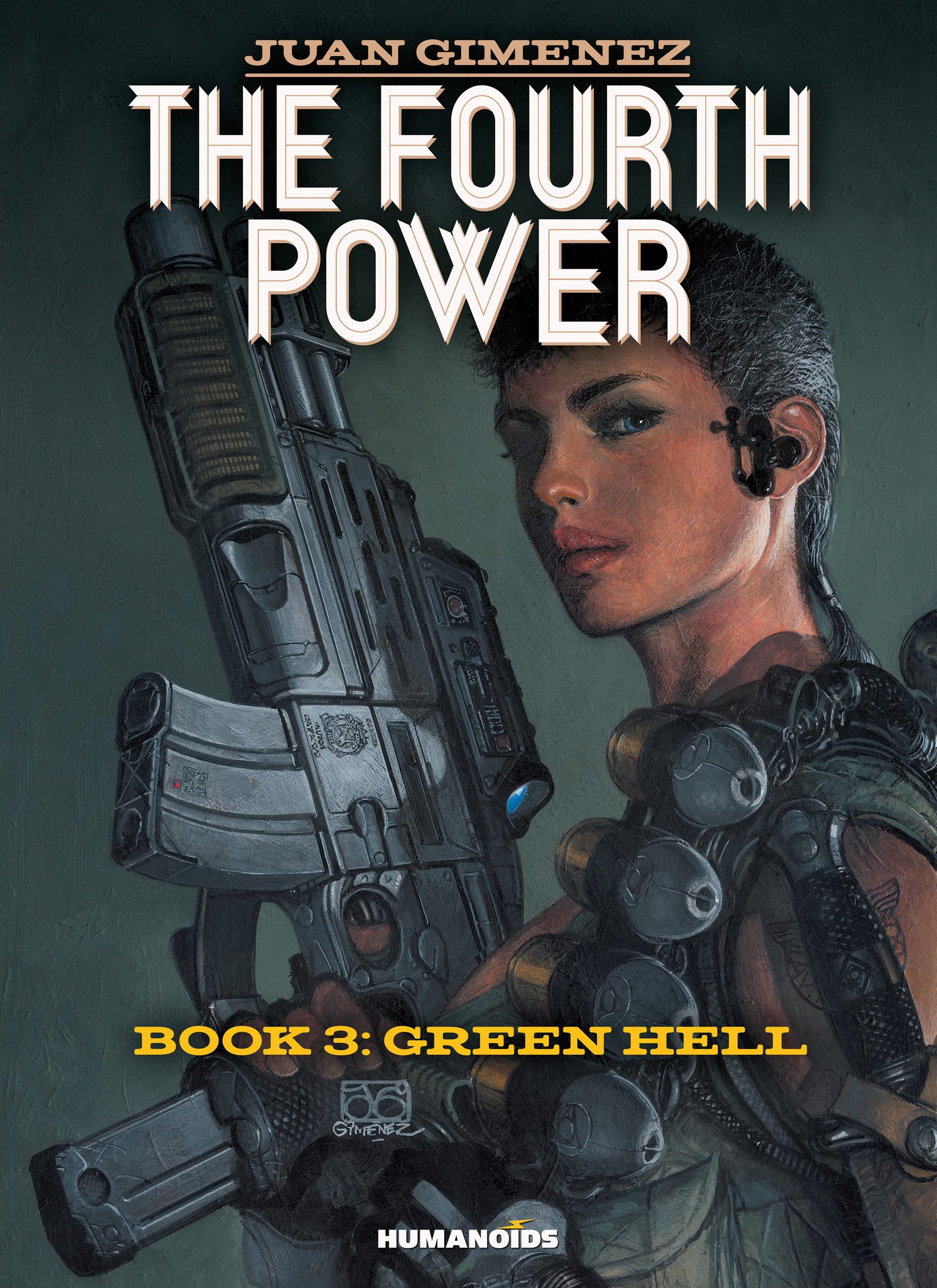 Read online The Fourth Power comic -  Issue #3 - 1
