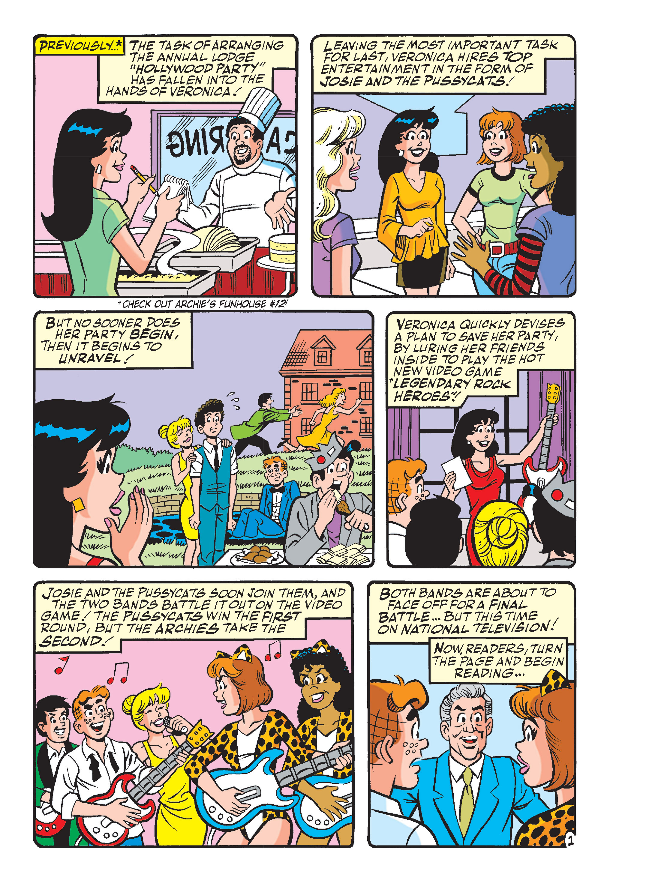 Read online Archie's Funhouse Double Digest comic -  Issue #13 - 36