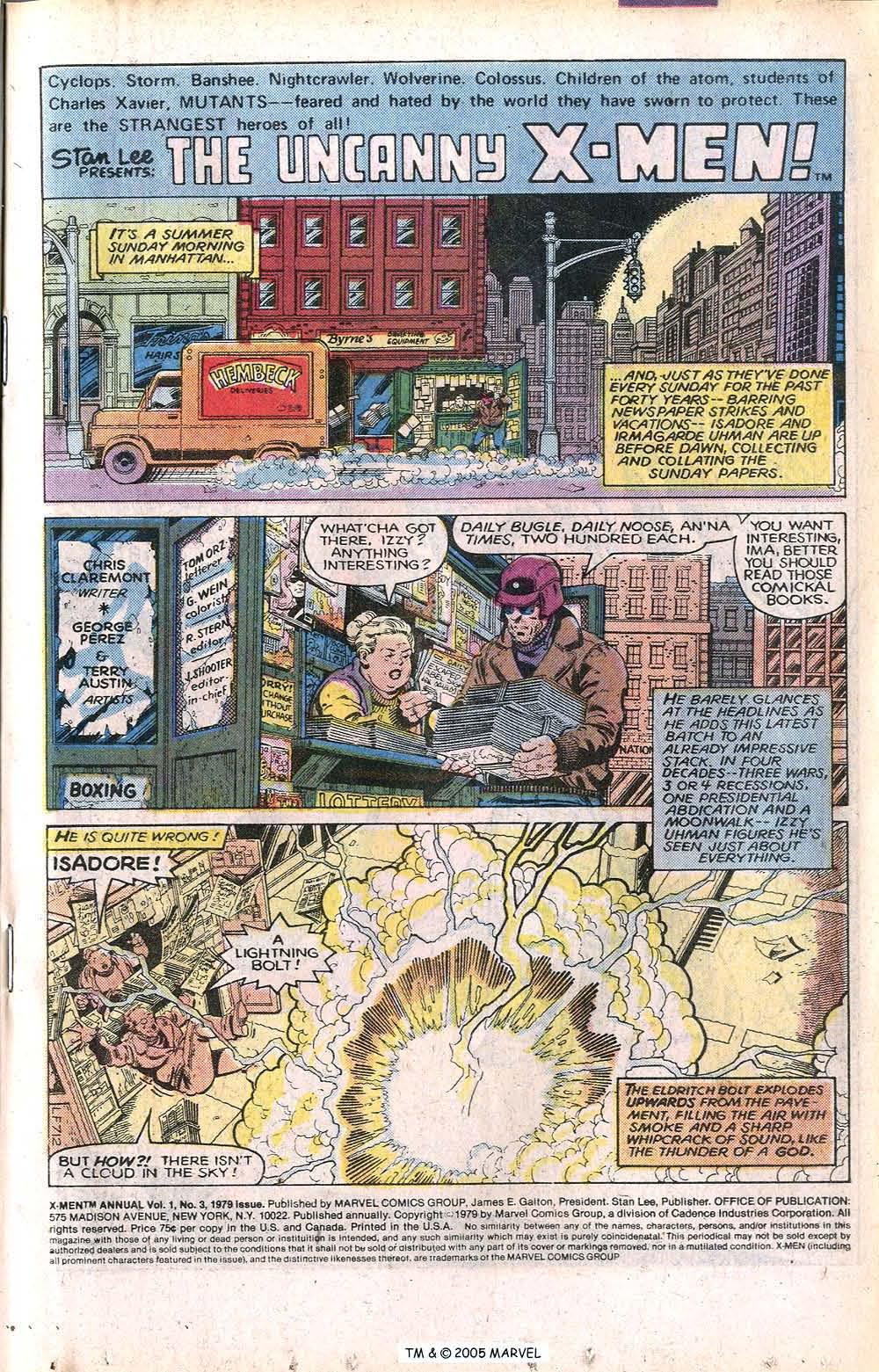 Read online Uncanny X-Men (1963) comic -  Issue # _Annual 3 - 3