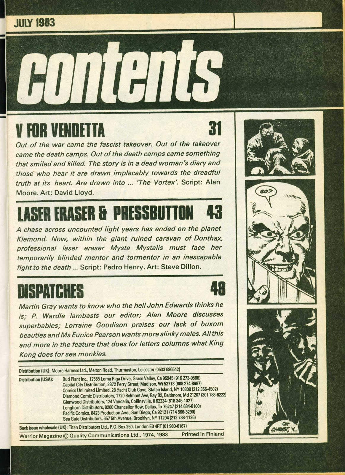 Warrior Issue #11 #12 - English 3