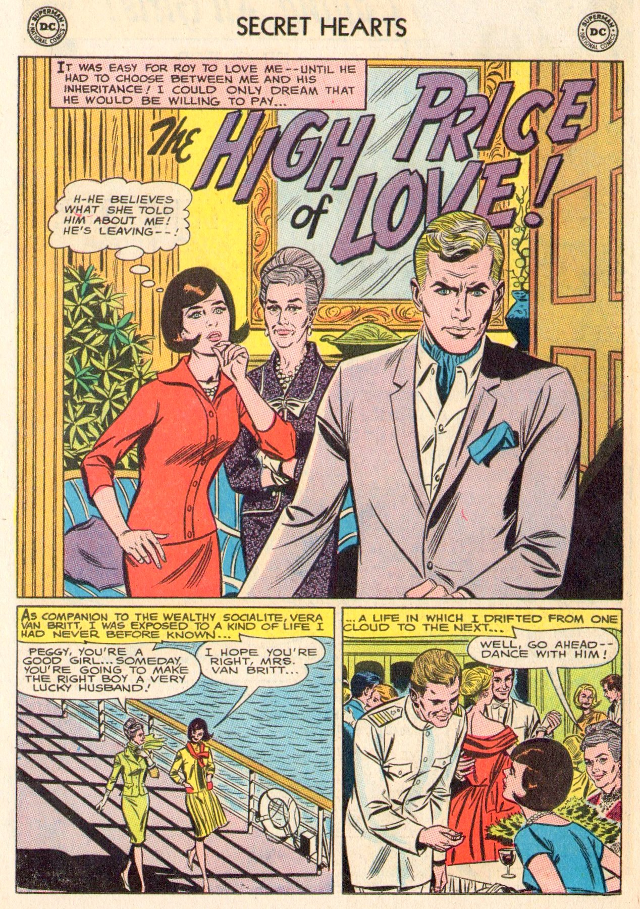 Read online Secret Hearts comic -  Issue #104 - 14