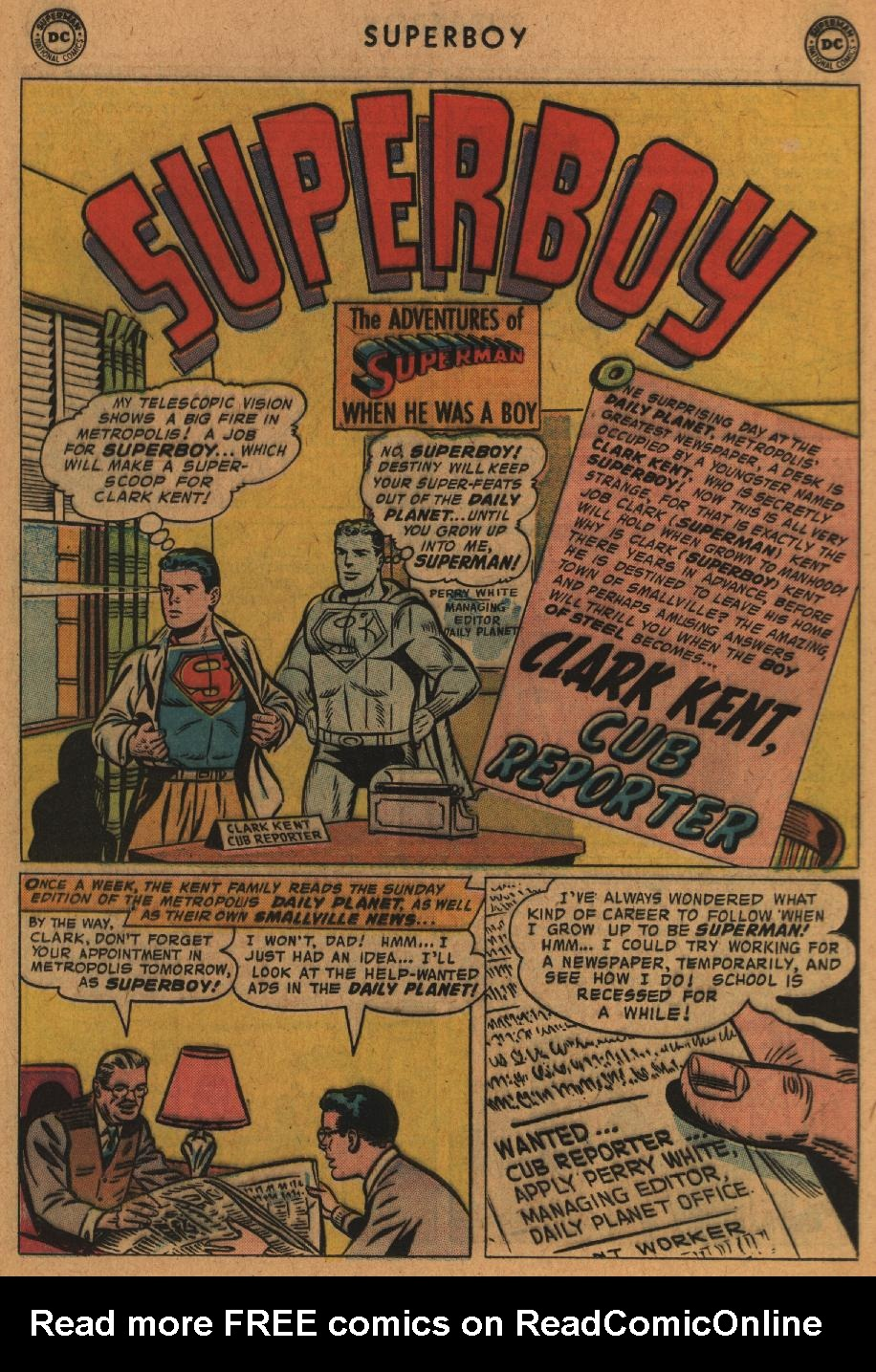 Superboy (1949) issue 63 - Page 11