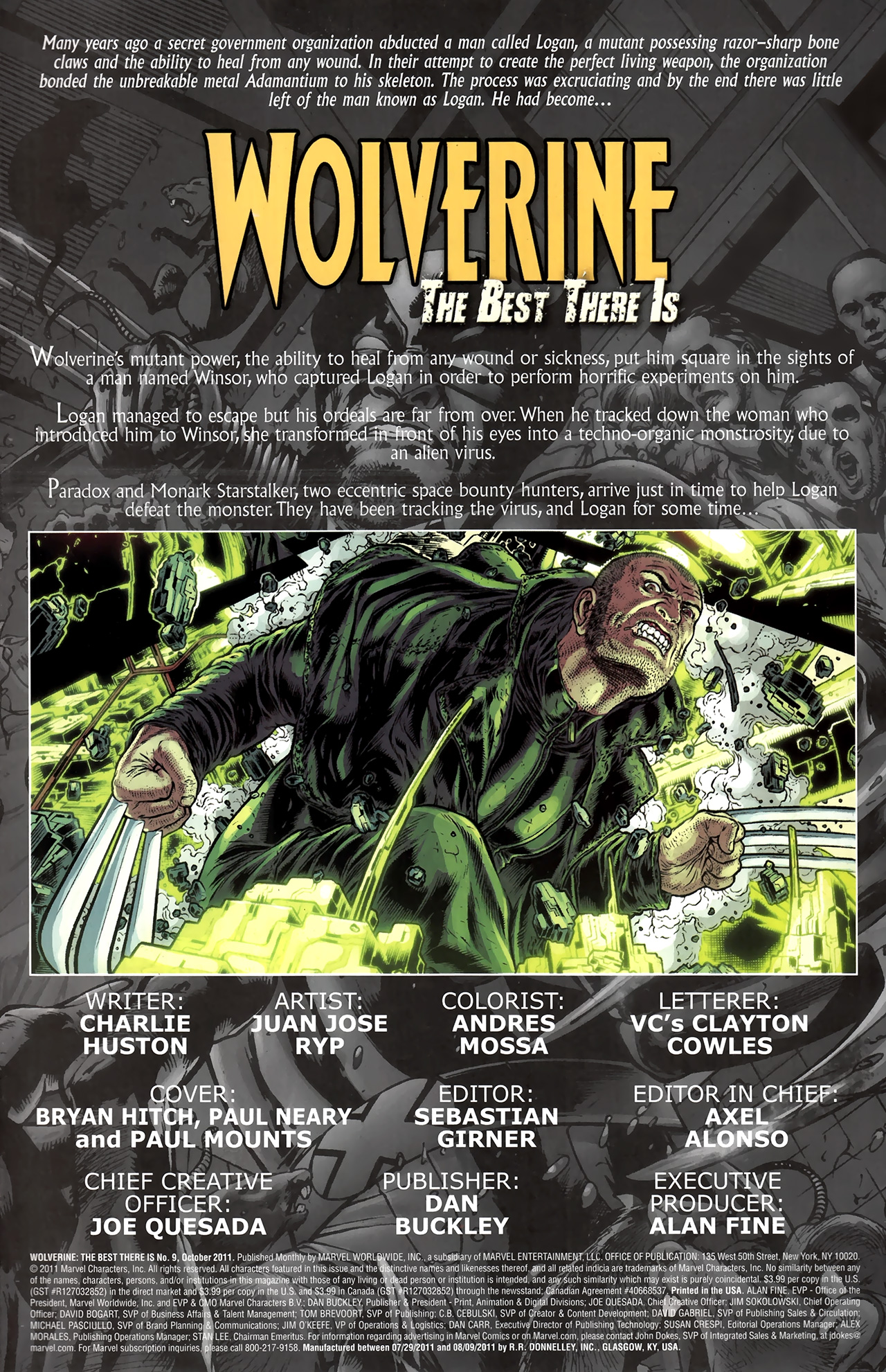 Read online Wolverine: The Best There Is comic -  Issue #9 - 2