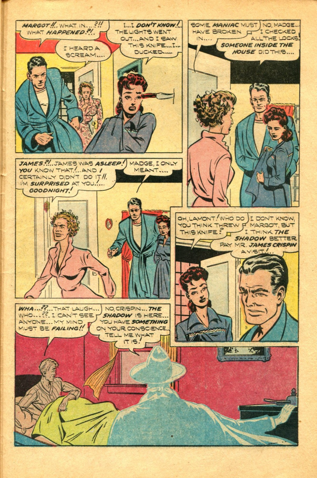 Read online Shadow Comics comic -  Issue #91 - 43