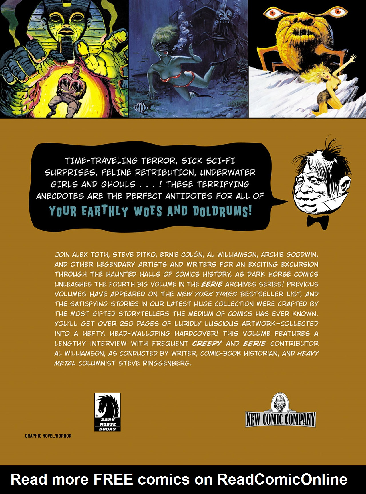 Read online Eerie Archives comic -  Issue # TPB 4 - 255