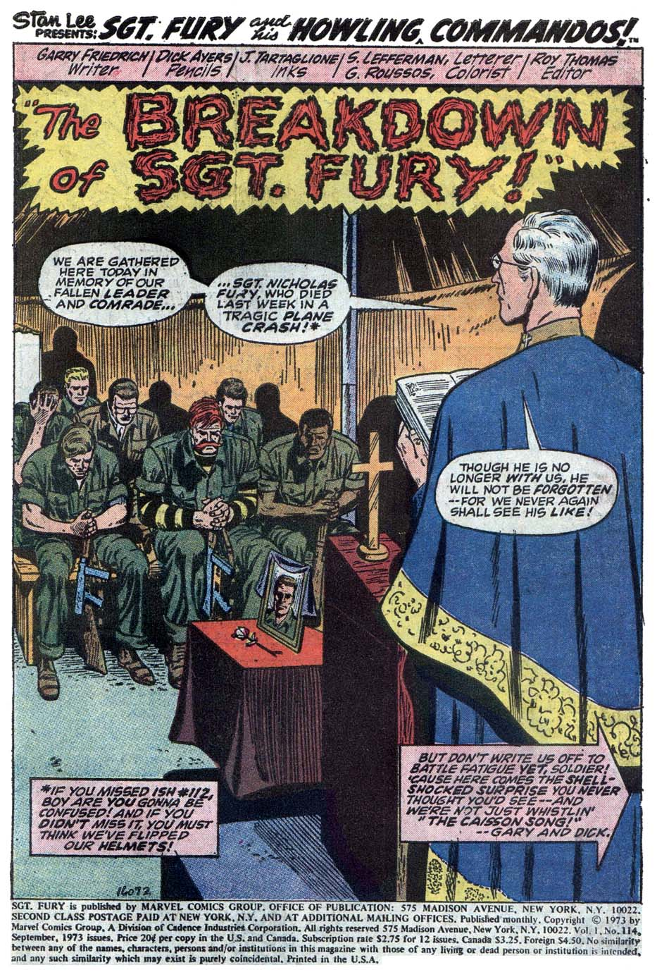 Read online Sgt. Fury comic -  Issue #114 - 3