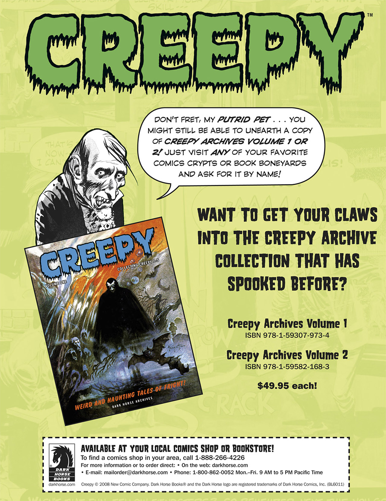 Read online Eerie Archives comic -  Issue # TPB 1 - 256