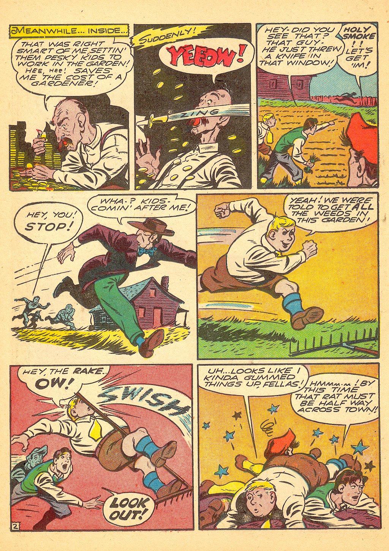 Read online Sensation (Mystery) Comics comic -  Issue #25 - 26