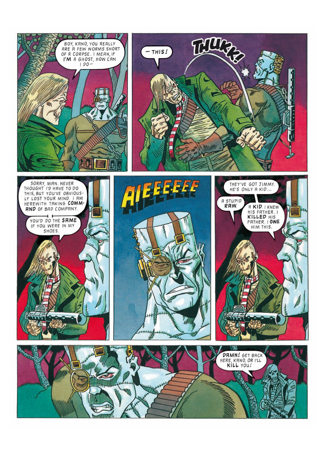 Read online The Complete Bad Company comic -  Issue # TPB - 309