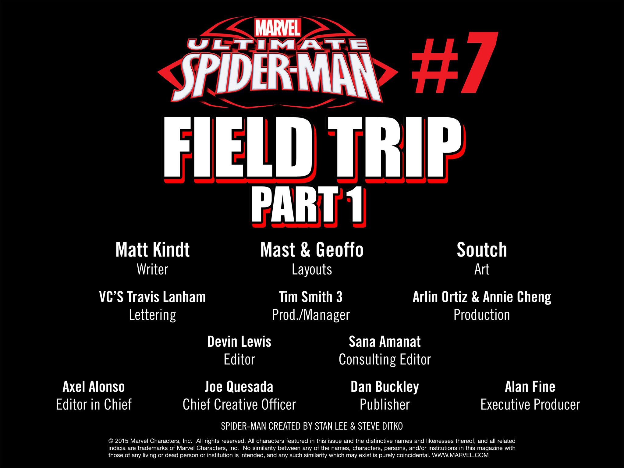 Read online Ultimate Spider-Man (Infinite Comics) (2015) comic -  Issue #7 - 43