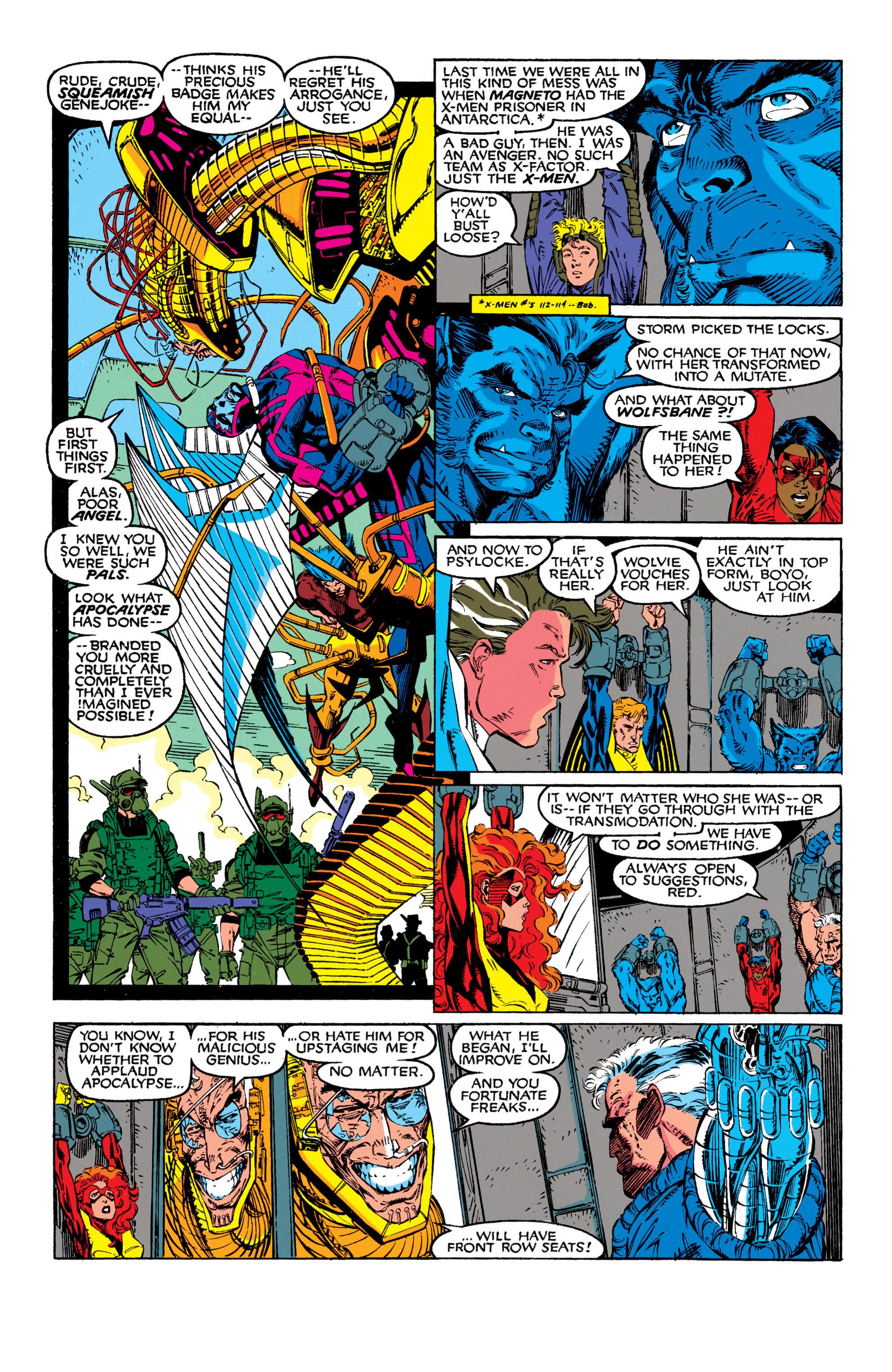 Read online Uncanny X-Men (1963) comic -  Issue #272 - 11