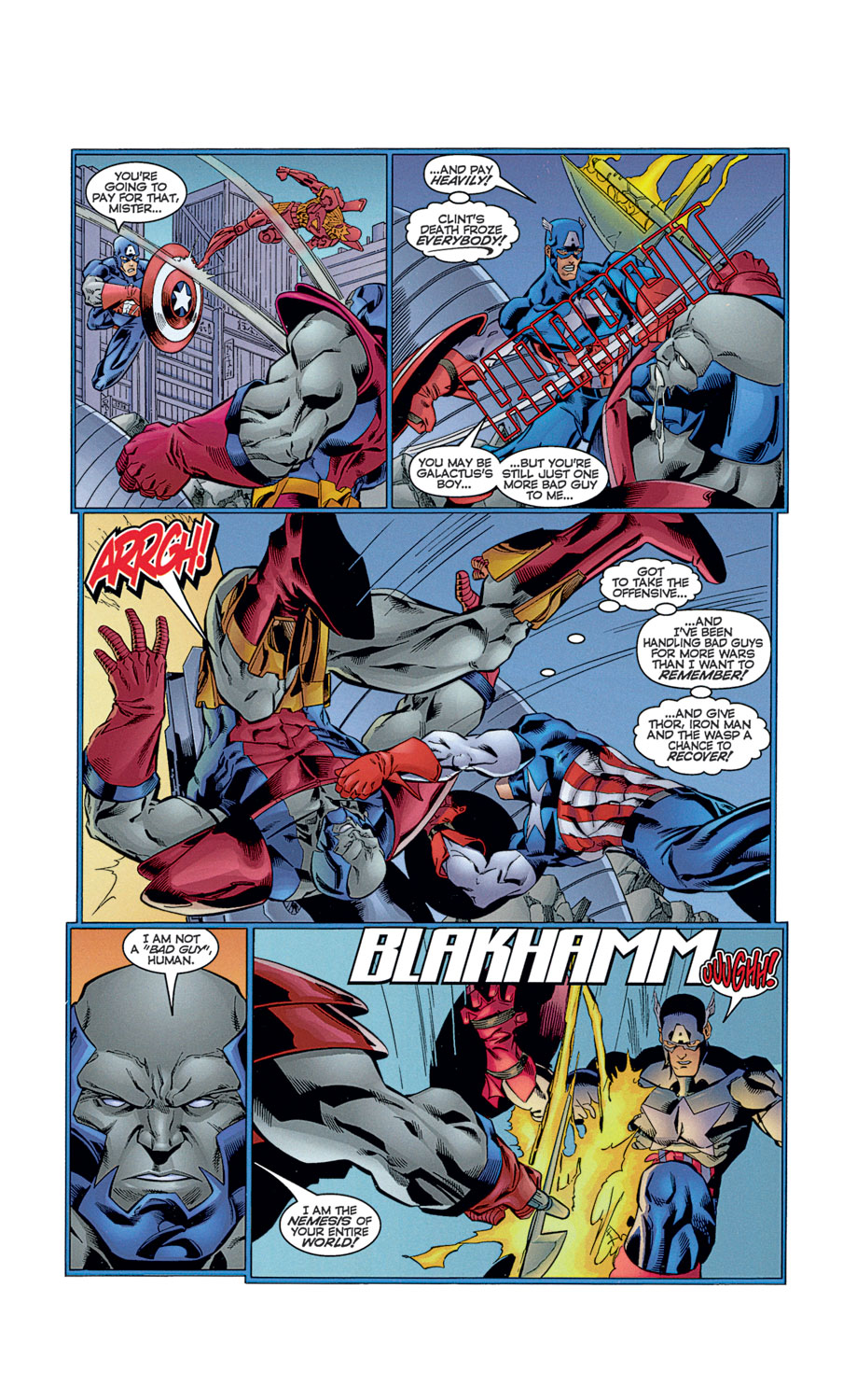 Read online Avengers (1996) comic -  Issue #12 - 29