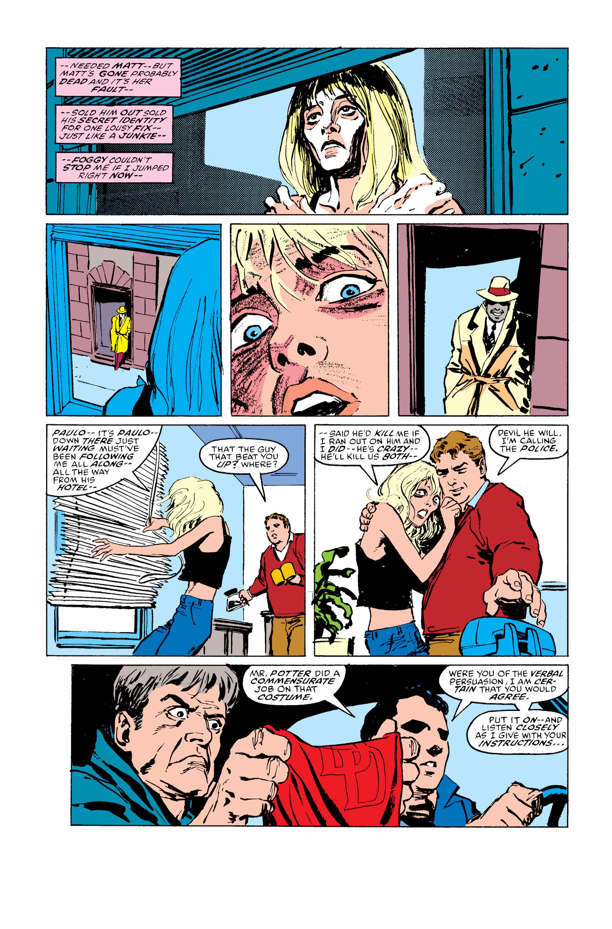 Read online Daredevil: Born Again comic -  Issue # Full - 135