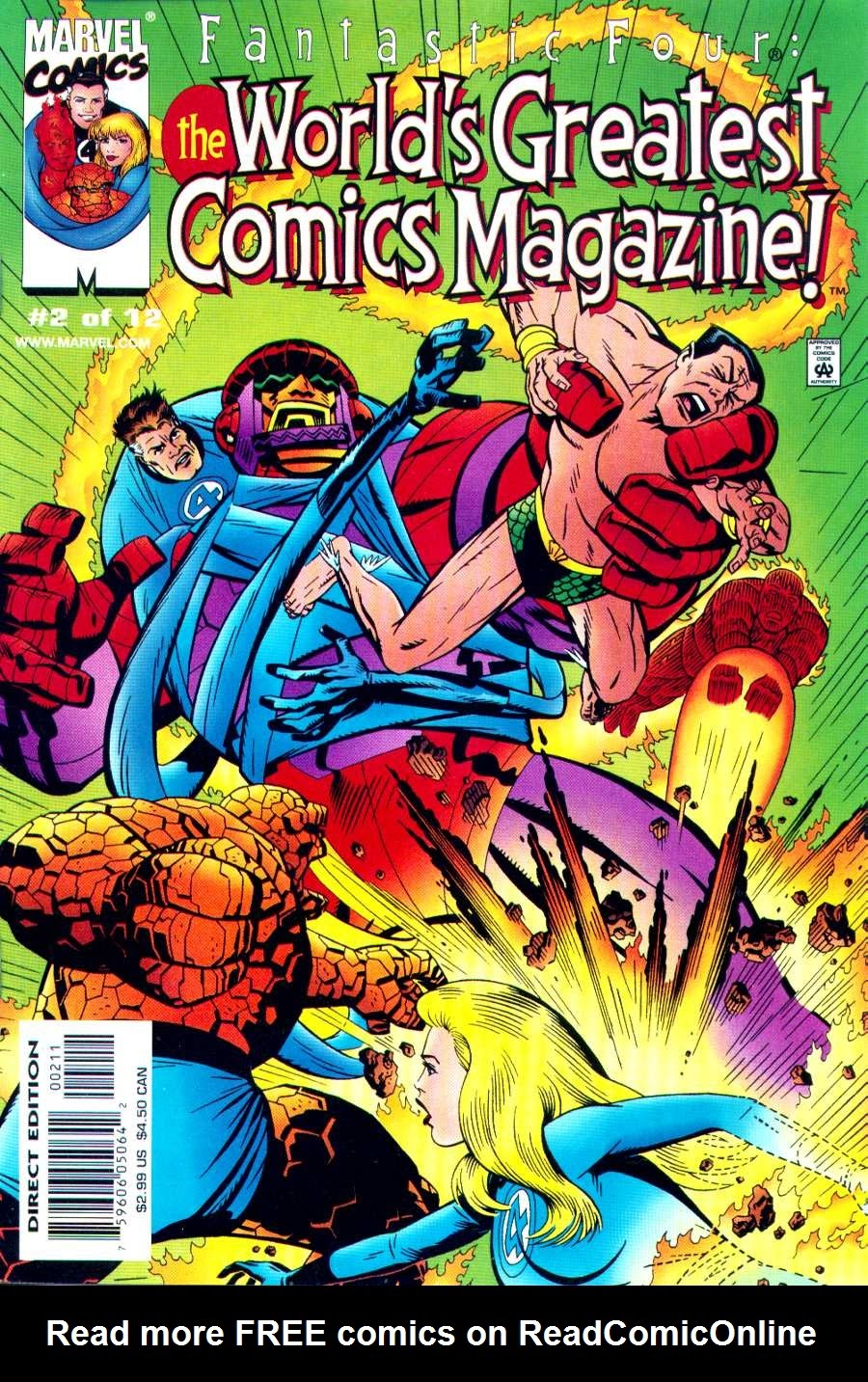 Fantastic Four: Worlds Greatest Comics Magazine 2 Page 1