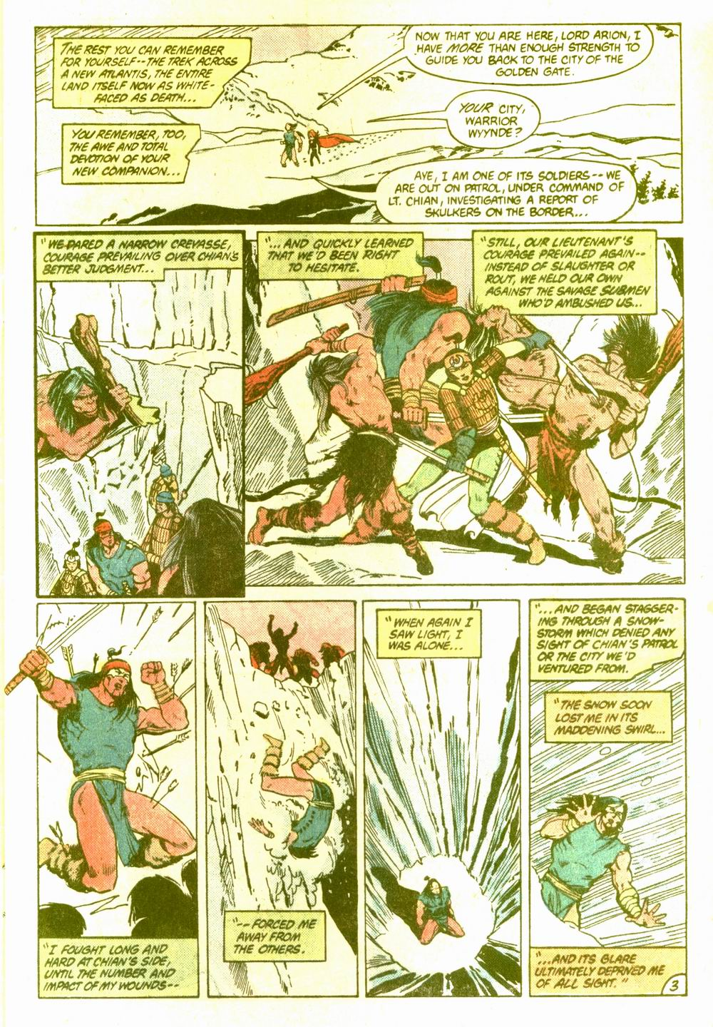 Read online Arion, Lord of Atlantis comic -  Issue #5 - 4