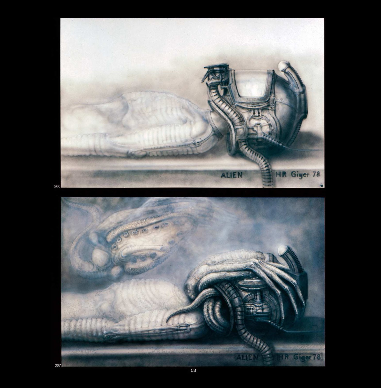 Read online Giger's Alien comic -  Issue # TPB - 55