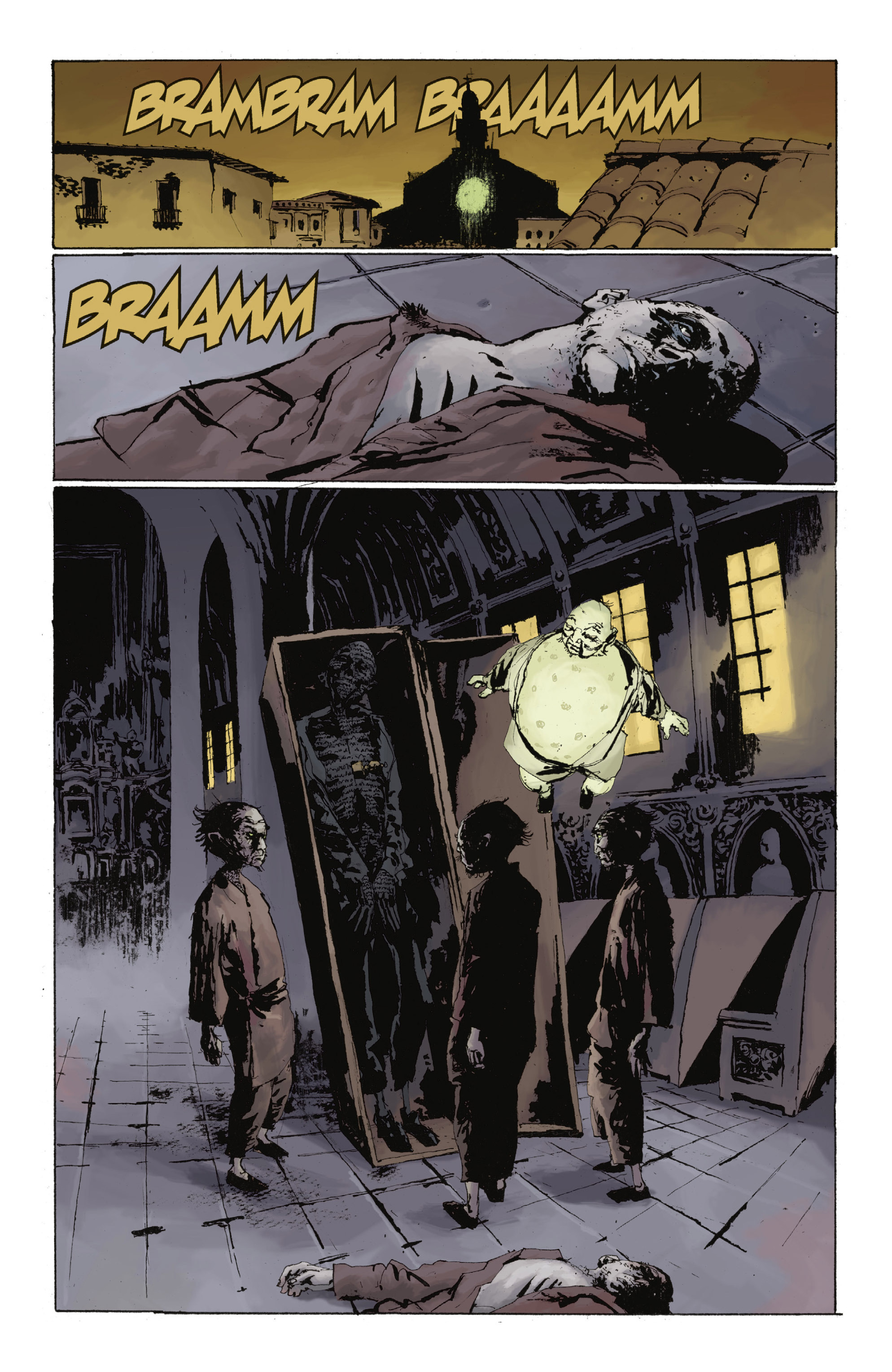 Read online Abe Sapien: The Drowning comic -  Issue #Abe Sapien: The Drowning _TPB - 64