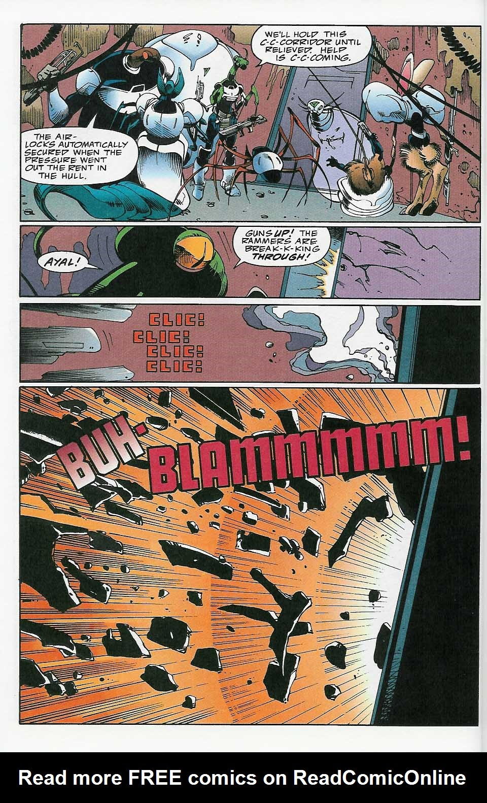 Alien Legion: On the Edge issue 2 - Page 21