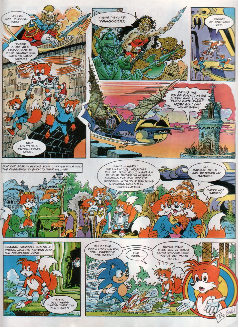 Read online Sonic the Comic comic -  Issue #31 - 22