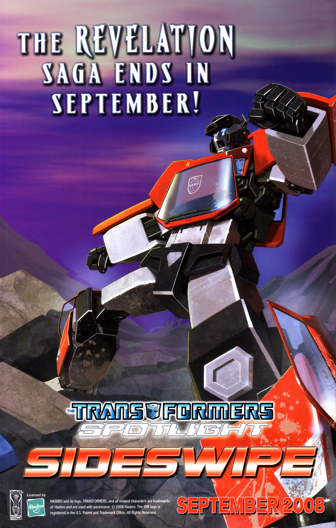 Read online Transformers: Saga of the Allspark comic -  Issue #3 - 26