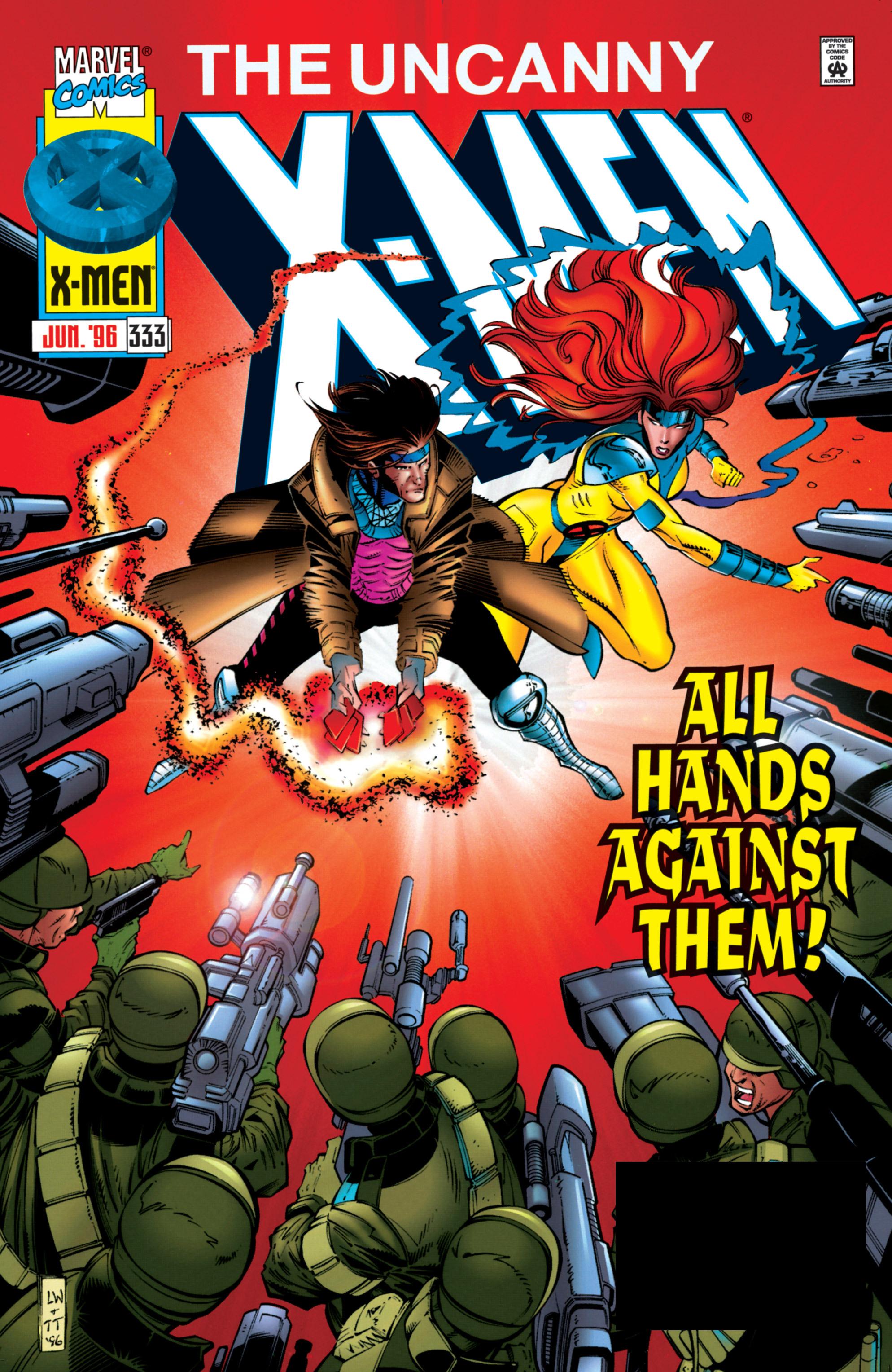 Read online Uncanny X-Men (1963) comic -  Issue #333 - 1
