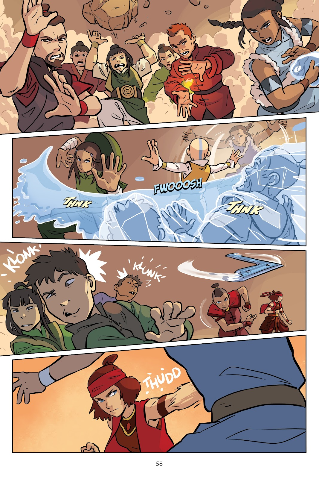 Read online Nickelodeon Avatar: The Last Airbender - Imbalance comic -  Issue # TPB 2 - 59