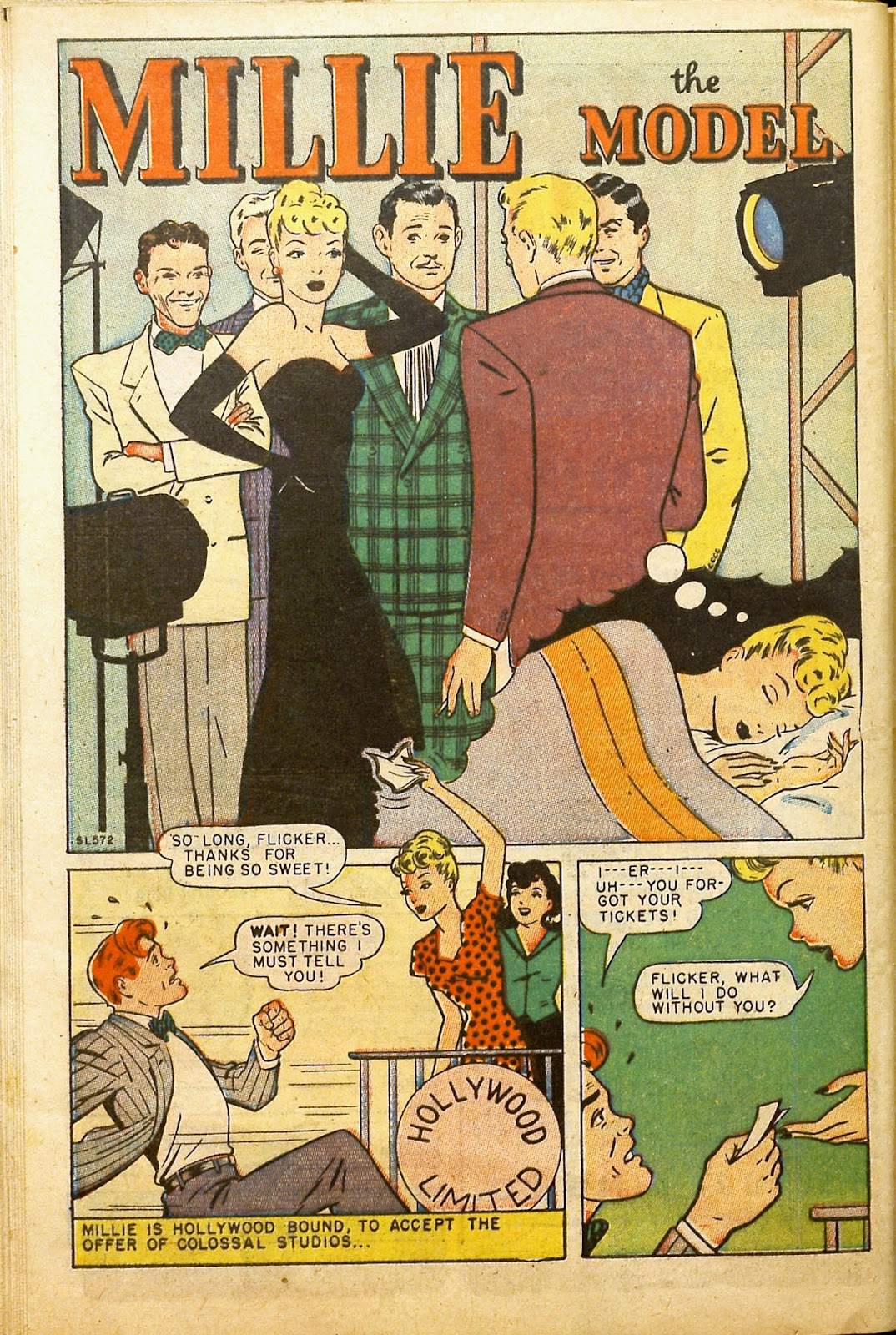 Read online Millie the Model comic -  Issue #2 - 42