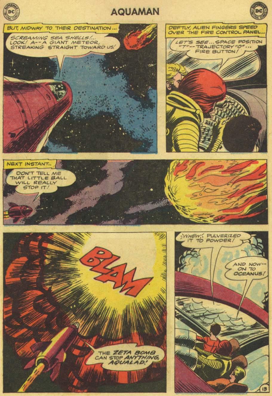 Read online Aquaman (1962) comic -  Issue #8 - 17