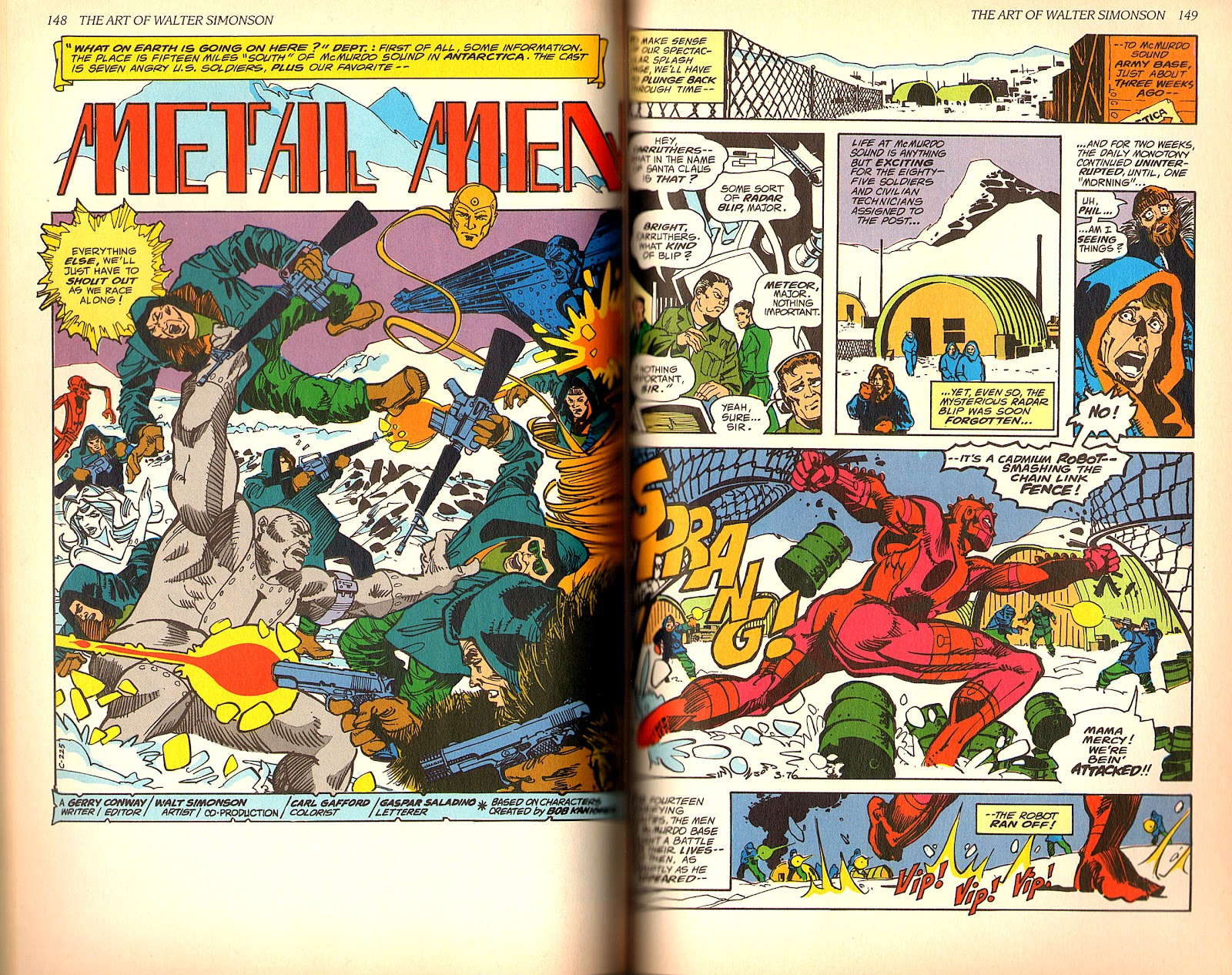 Read online The Art of Walter Simonson comic -  Issue # TPB - 76