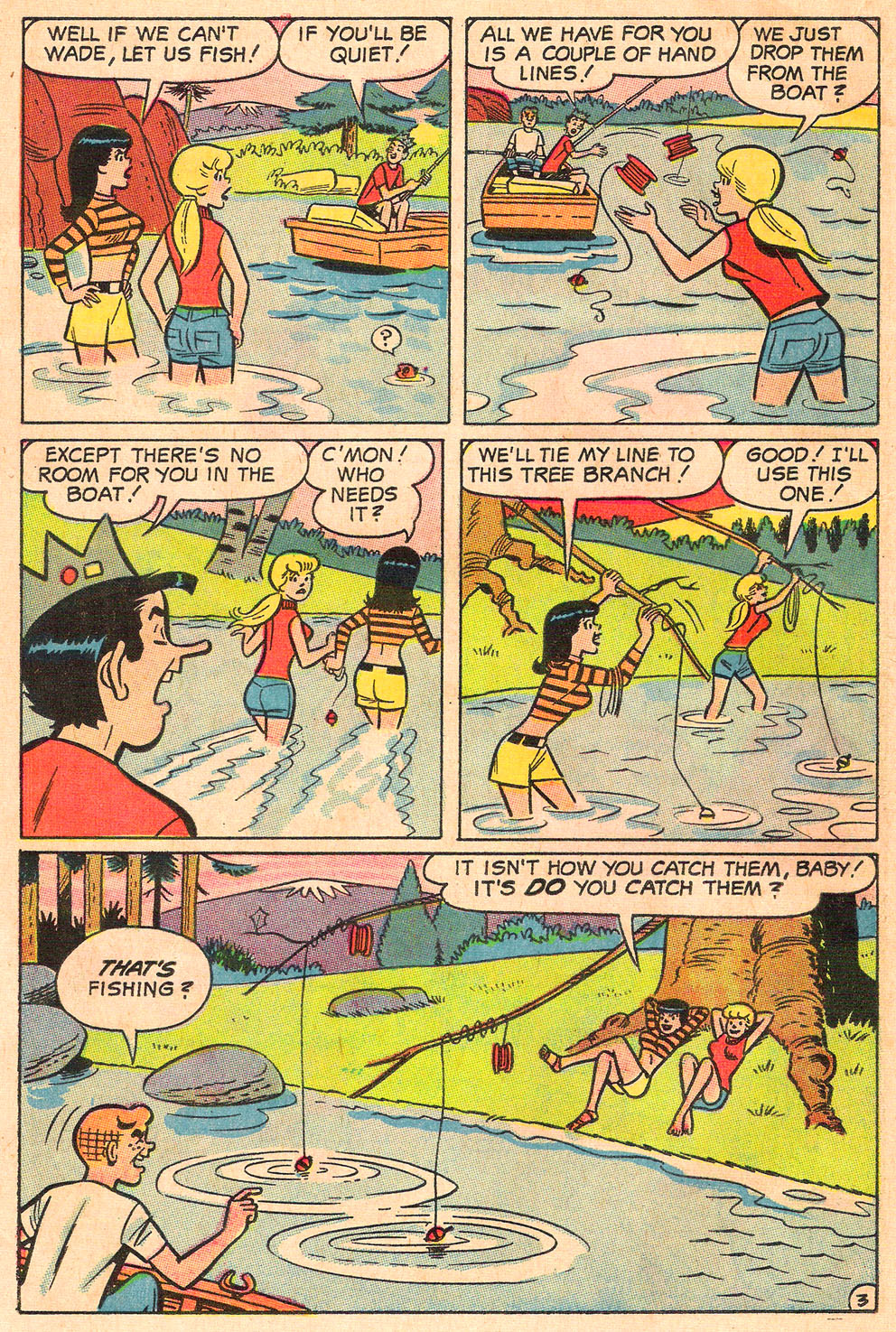 Read online Archie's Girls Betty and Veronica comic -  Issue #154 - 21