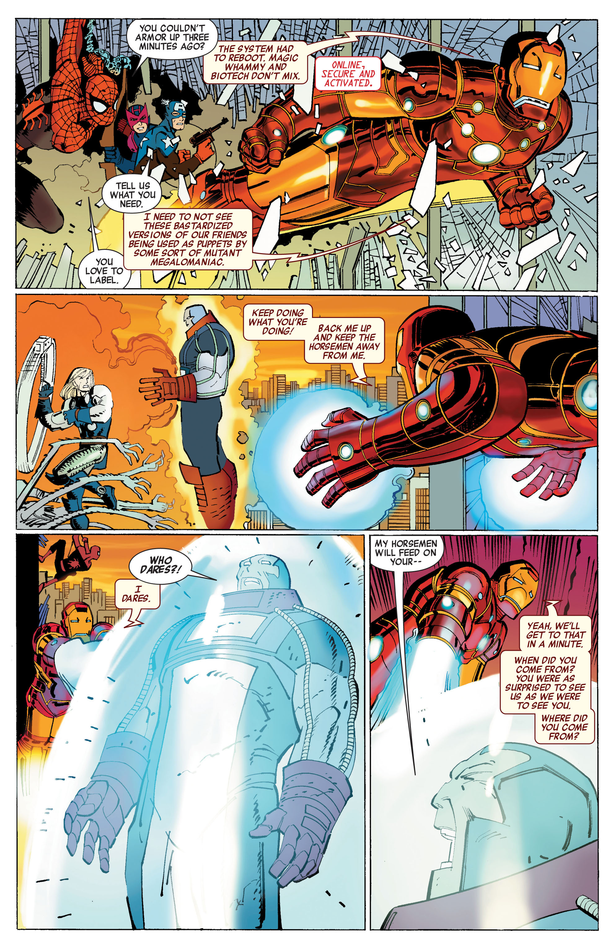 Read online Avengers (2010) comic -  Issue #3 - 13