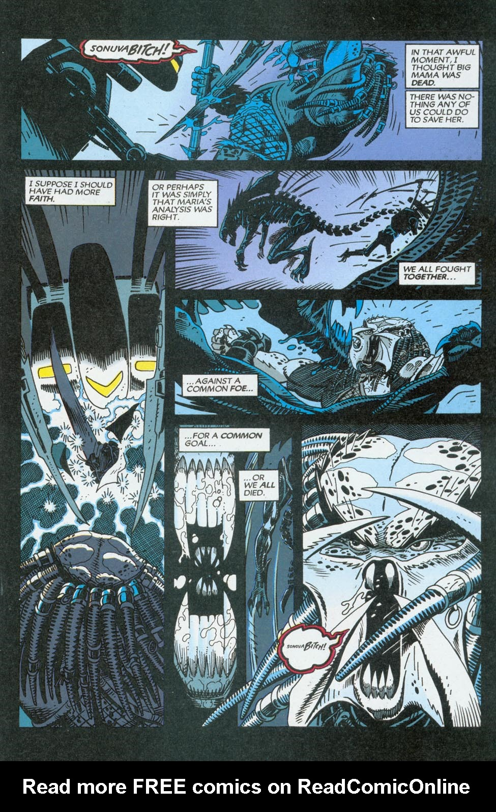 Read online Aliens/Predator: The Deadliest of the Species comic -  Issue #9 - 19