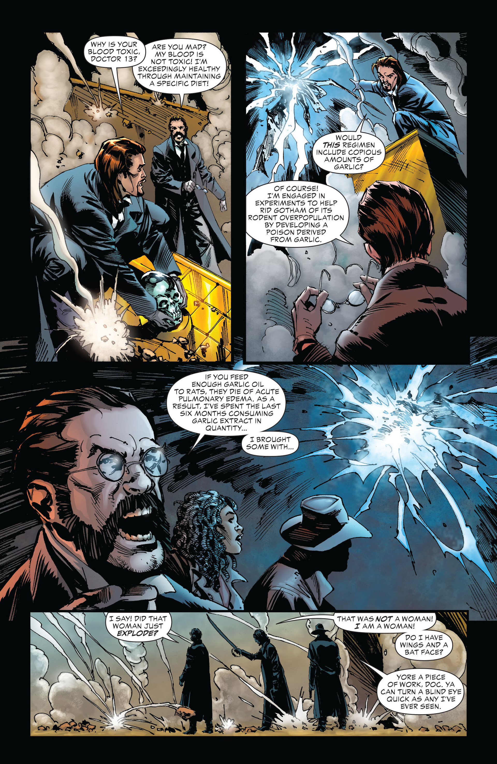 Read online All-Star Western (2011) comic -  Issue #21 - 25