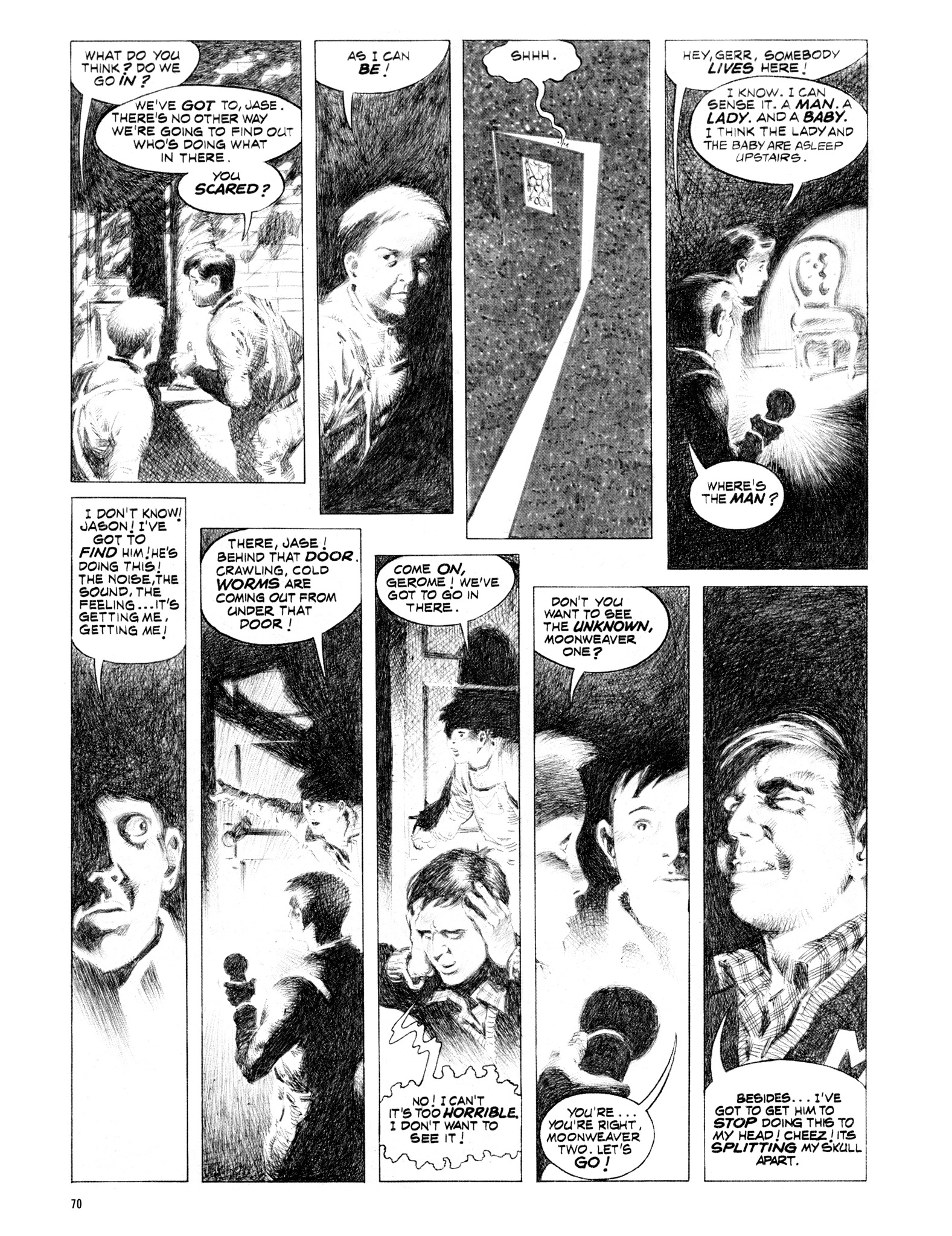 Read online Eerie Archives comic -  Issue # TPB 16 - 71