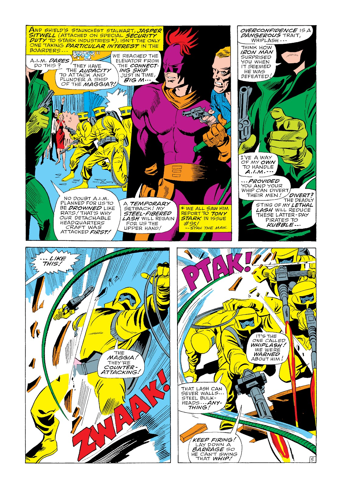 Read online Marvel Masterworks: The Invincible Iron Man comic -  Issue # TPB 4 (Part 3) - 17