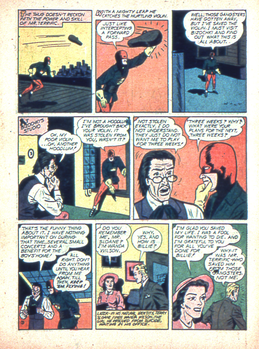 Read online Sensation (Mystery) Comics comic -  Issue #2 - 27