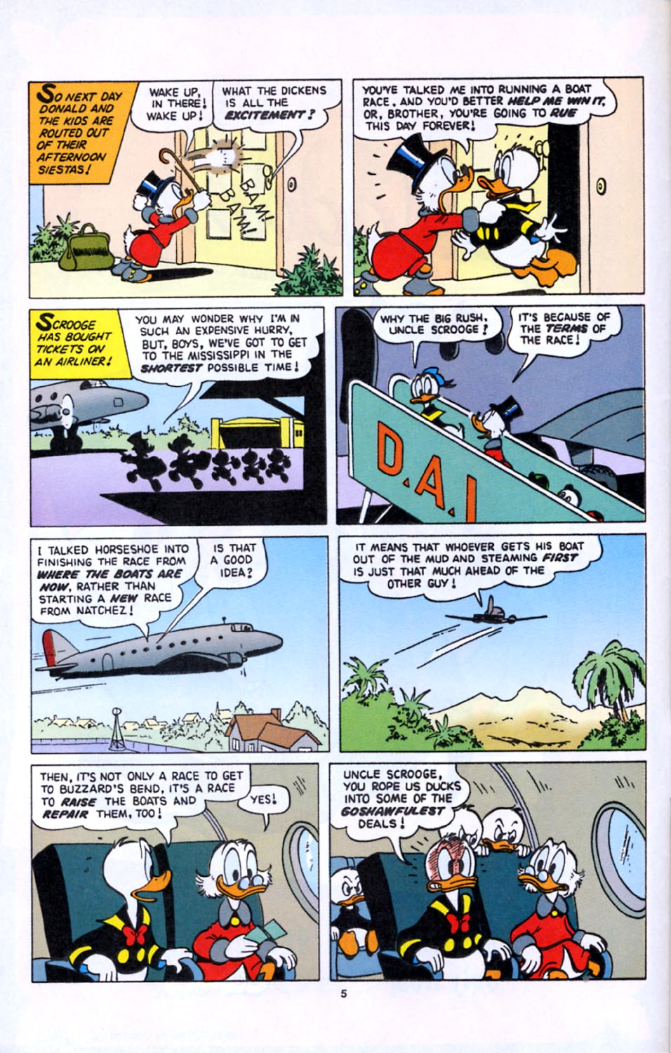 Read online Uncle Scrooge (1953) comic -  Issue #277 - 6